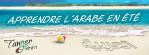 cours d'arabe en été
